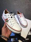 Chaussures blanches courantes occasionnelles respirables de sport en cuir d'espadrilles de TB de mode