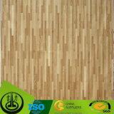 Papel de madera aprobado de la melamina del grano del Fsc