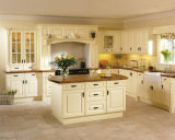 Armário de cozinha de madeira do projeto 2015 o mais novo