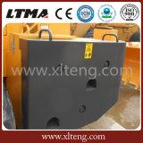Disposizione di vendita calda della maniglia del blocco caricatore della rotella del carrello elevatore da 32 tonnellate