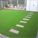 25mm 고도 18900 조밀도 Ladms10 조경 훈장 중국 인공적인 잔디 합성 물질 잔디밭