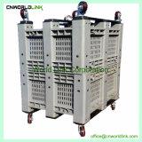 Speicherstapelbares Plastiklager großes HDPE Ladeplatten-Sortierfach