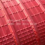 El azulejo V del techo que curva lamina la formación de la máquina