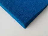 セルおよび近いセルシリコーンのフォームラバーシートの青いのシリコーンのスポンジゴムシートを、黄色赤い開きなさい