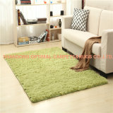 PVの毛皮部屋のマットポリエステル敷物の羊毛のカーペットおよびマット