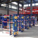 Cambiador de calor ahorro de energía solar de la placa de Gasketed de la recuperación de calor del campo de la HVAC del aire acondicionado