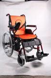 安い価格の車椅子を折る医学の製品の電力アルミニウム