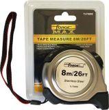 Cinta métrica de medición de S / S Caso de metal recubierto de nylon Forgemax OEM