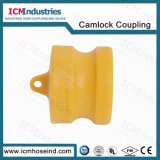 Tipo di nylon accoppiamenti di tubo flessibile della scanalatura dei Camlocks di DP
