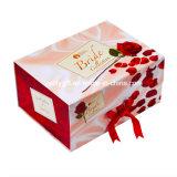 大きい包装の花嫁の衣類のギフト堅い磁気ペーパー折るボックス