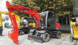 ISO9001証明書が付いている中国の広く利用された新しく小さい車輪の掘削機