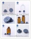 Het farmaceutische Flesje van het Glas voor Antibiotische Geneeskunde en Injectie