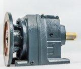 Редуктор с конической передачей серии r спирально с мотором IEC зацепленным фланцом