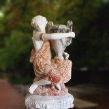 여자 보유 Vaset-3477의 대리석 상 조각품의 쌍