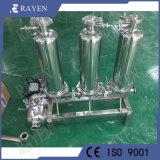 La caja del filtro de cartucho de filtro de PP, núcleo de la caja del filtro de acero inoxidable