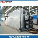 Profil d'extrusion en aluminium 6 paniers Four à vieillissement à une seule porte