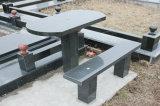 中国椅子が付いている最新のデザイン花こう岩表のダイニングテーブル