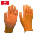 Guanti rivestiti del nylon ESD dell'unità di elaborazione della palma e delle punte delle dita del fornitore della fabbrica dalla Cina