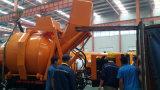 효율성 양수 시스템 제조자를 가진 유압 드는 호퍼 15m3 믹서