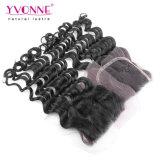 Slacciare la chiusura peruviana del merletto dei capelli dell'onda