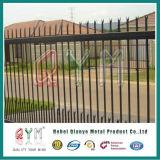 Cerca de acero galvanizada de la cerca del metal de la palizada para la torre Telecom