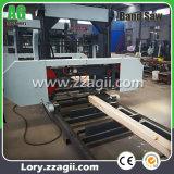 電気ディーゼル機関の携帯用材木の木製の鋸引き機械