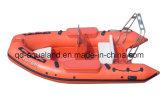 Aqualand 14feet 4.2m de Stijve Opblaasbare Boot van de Motor/de Boot van de Redding van de Rib (RIB420B)