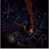 ليزر [ليغت بروجكتور] خضراء وأحمر وزرقاء أضواء حديقة زخرفة خارجيّ عيد ميلاد المسيح [لسر ليغت]