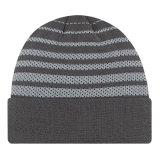 黒いカラー冬の習慣によって編まれる帽子の帽子