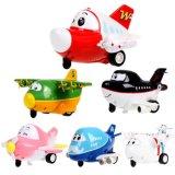 147102-Mini Inertial Traffic Cartoon Model Aircraft Brinquedos divertidos para crianças Crianças com som, luz, função de piscar de olhos