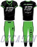A venda por atacado projeta o futebol Jersey dos uniformes/tigre do futebol americano da juventude