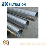 Pantalla de acoplamiento del filtro del alambre de la cuña Ss304