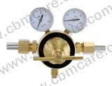 Regolatore del gas appiattito per gli usi ossigeno/Acetylene/LNG/N2