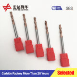 Fábrica de Zhuzhou HRC60 Fin de carburo de tungsteno de carburo de molino molinos final Herramientas de corte