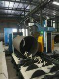 Cortador del gas del CNC del acero de carbón, plasma que bisela, cortadora del tubo para la tela grande de los tubos