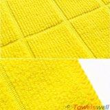 De afwijking breide Geruite Handdoek Microfiber