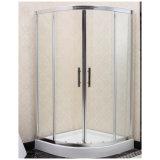 جودة غرفة الاستحمام الألومنيوم عالية مع الزجاج المزاج