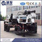 4 roues Type HF510t'engin de forage de puits à utiliser avec compresseur à air