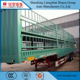 rimorchio della rete fissa 3axles/palo/carico semi per bestiame