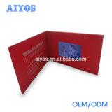 Роскошная карточка приглашения LCD рождества венчания отрезока лазера