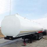 3개의 BPW 차축 트레일러 50000 리터 석유 탱크 트럭