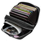 Les femmes de la petite Compart Portefeuille en cuir Mesdames Mini sac à main avec l'ID de l'embrayage de la fenêtre carte format portefeuille titulaire Ladies Purse (WDL01077)