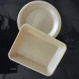 Carne fresca de aves de embalagens descartáveis de amido de milho biodegradáveis recipiente de alimentos de Espuma