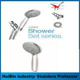 """Conjunto de cabezal de ducha de lluvia - cabezal de ducha de 10"""" con 10 pulgadas Full - Brazo de ducha ajustable de latón cromado de lujo regadera"""