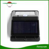 Panel Solar Power 4 LED recargable luz del sensor de movimiento PIR impermeable al aire libre del paisaje de la pared del jardín lámpara patio