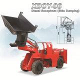 Xiandai Xdcy-06小さいScooptram 1.26mの幅の側面のダンプ