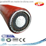 cable de transmisión Unarmoured del PVC de las memorias multi 600/1000V