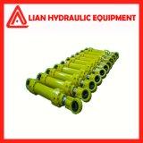 Cilindro hidráulico personalizado do petróleo industrial do elevado desempenho com aço de carbono