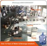 machine de remplissage de l'eau de baril de 18.9L 5gallon