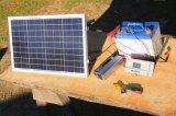 Poly panneau solaire pour la batterie de remplissage 75W